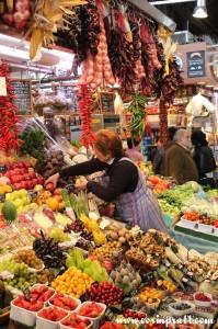 Market Stall, La Boqueria, Barcelona