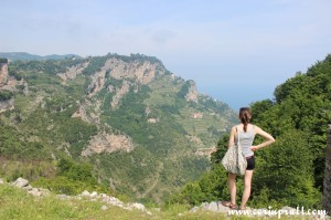View from Il Sentiero degli Dei