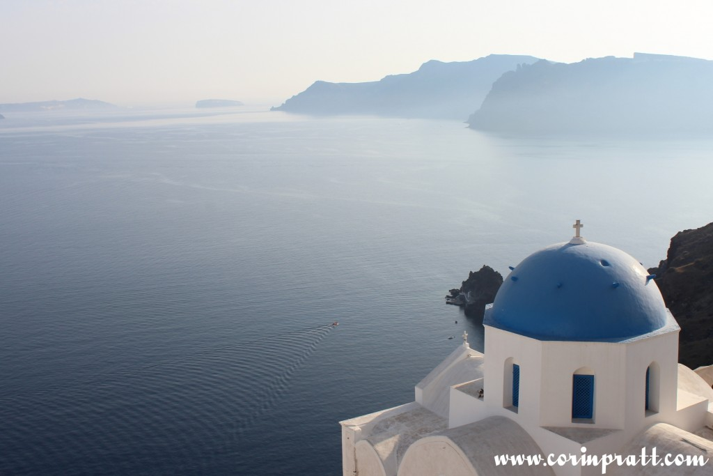 Blue-Domed Building, Oia, Santorini