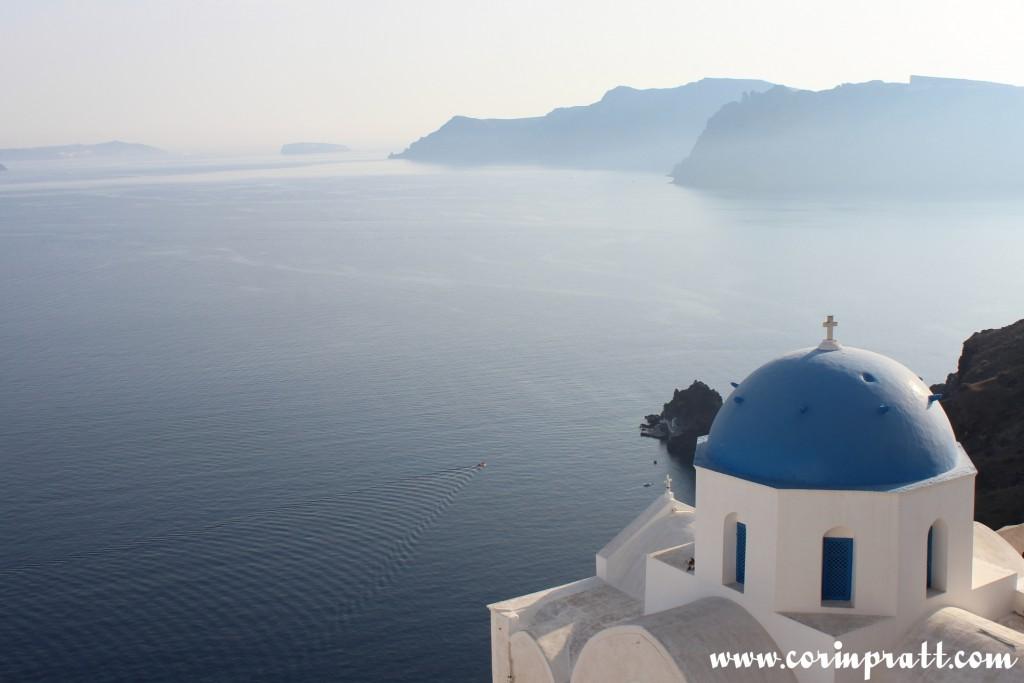 Blue-Domed Building, Oia, Santorini