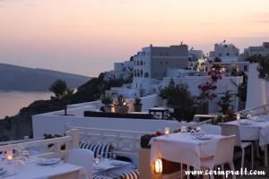 Sunset Restaurant, Oia, Santorini
