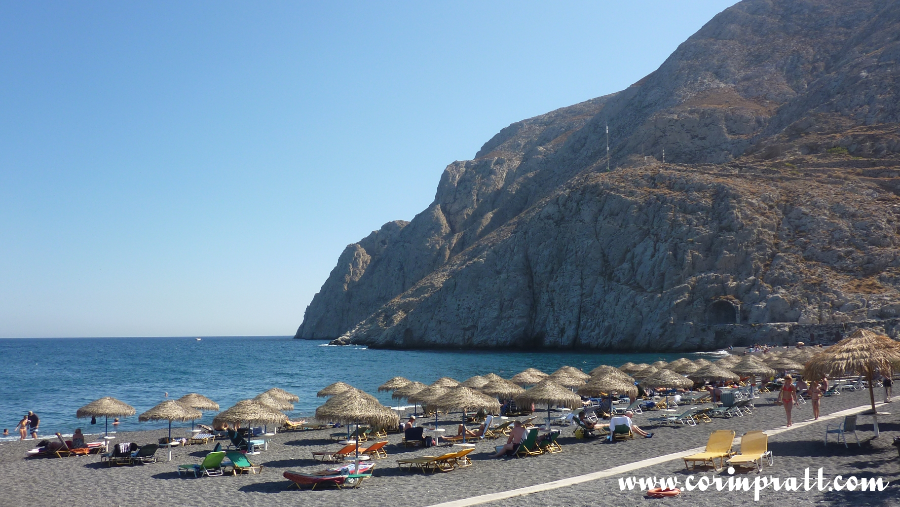 Hotels In Kamari Beach Santorini Greece