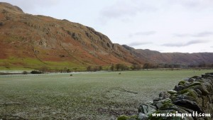Great Langdale Valley, Lake District, mountains