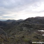 Moonscape, Bowfell, Langdales, Lake District