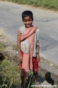 Boy in Sikkim, India