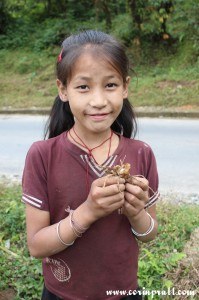 Girl in Ravangla, Sikkim, India