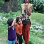 Sisters, towards Yuksom/Yuksum, Sikkim, India