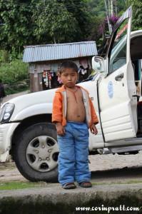 Boy, Yuksom/Yuksum, Sikkim, India