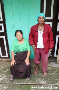 Old couple, Sikkim, India