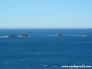 Lighthouse, Land's End, Cornwall