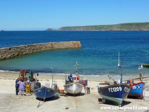 Fishing Boats, Sennen Cove, Cornwall