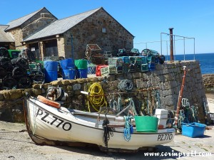 Fishing Boat and Traps, Sennen Cove, Cornwall