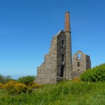 Abandoned Chimney, near St Ives, Cornwall