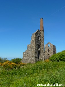 Abandoned Chimney, near St Ives, Cornwall