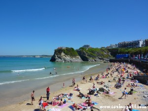 Towan Beach, Newquay, Cornwall