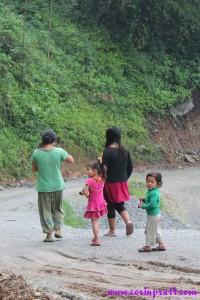 Family, Ravangla, Sikkim, India