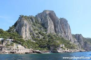Cliffs, Buildings, Capri, Italy