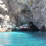 Boat, Turquoise Water, Capri, Italy