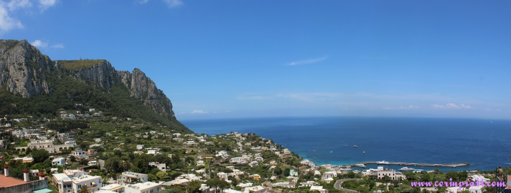 Capri Vista, Harbour, Italy