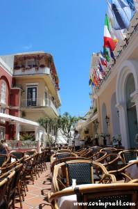 Restaurant, Capri, Italy