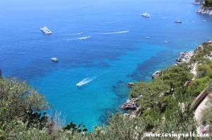 Coast, Boats, Capri, Italy