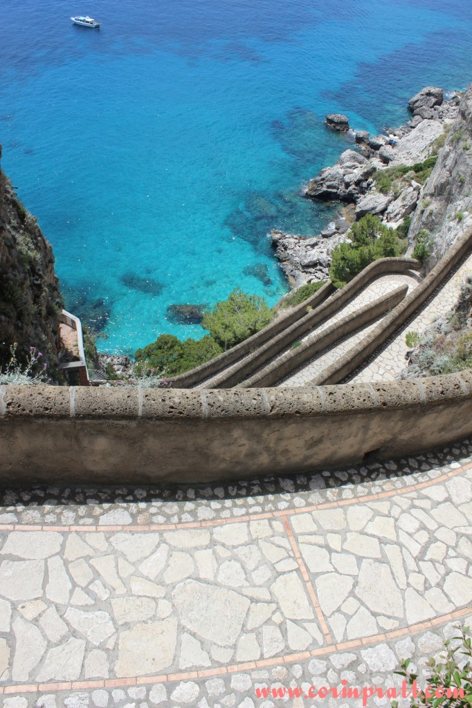 Winding Path, Coast, Capri, Italy