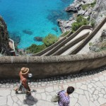 Winding Path, Coast, Capri, Italy