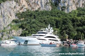Yacht, Superyacht, Diamonds Are Forever, Capri Harbour, Italy