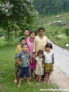 Family, Sikkim, India