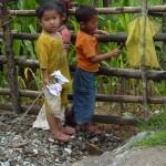 Children, Yuksom, Sikkim, India