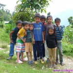 Children, Tashiding, Sikkim, India