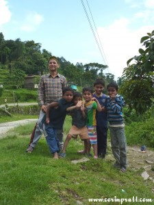 Children, Tashiding, Sikkim, India