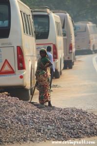 Worker, New Delhi, road