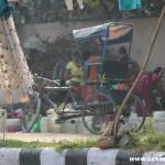 Family, New Delhi, road