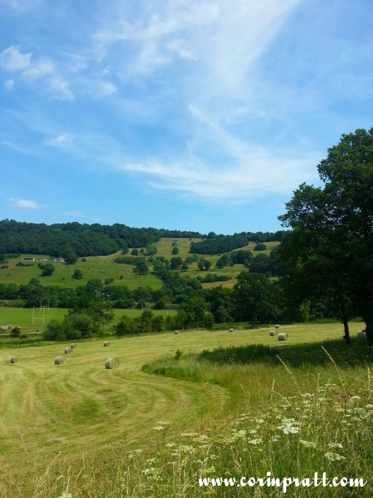 A view near to Matlock, Derbyshire
